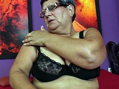 My granny Mariette, is a real nymphomaniac. Though she is already old, every morning she started with a special sexy ritual. No matter you wanted to see this or not... you should! Her huge saggy melons and hairy fat pussy are worth seeing. Relax and enjoy!