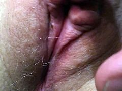 Wife's pussy getting soaking wet ready to fuck