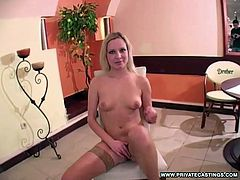 Lolly Blonde is a 19 year old who confesses to having a dark heart and admits that she loves playing with guys. She came to the right place! She gets naked and makes herself wet and ready to fuck......