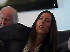 Spanked by not Her Gdad