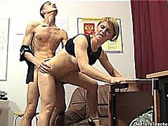 Russian aged teacher 10 fearsome-threatening Elise fearsome(piano lesson)