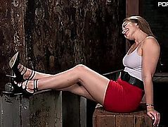 Hogtied Dani Daniels Dani Daniels in Brutal Slavery Tormented and Made to Cum Uncontrollably FRESH KINK June 26 2015 RECENT