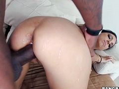 Tetite Trinity St. Clair gets her pussy stretched by BBC