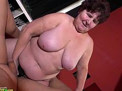 Old matures bbw and slim granny lesbian adult toys action compilation