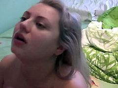 Busty Blonde Homemade Sex