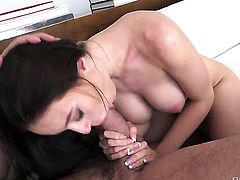 Lana Rhoades getting skull slammed by Manuel Ferraras erect meat stick