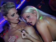 Are you ready to jizz all over the place,then watch these submissive chicks having an orgy