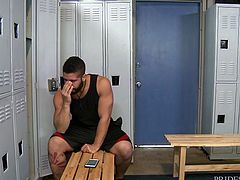 Locker rooms are perfect to enjoy hard anal gay sex. After the workout in the gym, muscled Trey Turner entered the locker room, looking for a sex partner. Then, Fernando Del Rio came here and both of them experienced new sexual pleasure there itself.