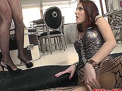 Vicious studs threeway with slutty duo