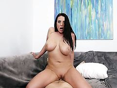 Angela White is horny all the time cuz she loves to fuck but cant get enough