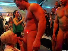 Muscular male strippers are exactly what these horny ladies needed
