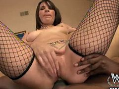 Dana De Armond is well known for her kinkiness and embracing hige cocks up her tight ass. She fists her own ass to make way for a huge BBC and taking it back in her mouth.