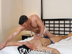 ManRoyale - Angel Rock Jack Hammers Hot Twink Ass