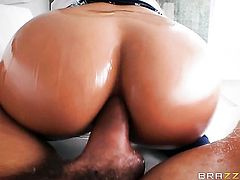 Blonde Luna Star with huge melons is one hot cock rider that loves anal sex with Ramon