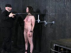 Endza Adair is a very naughty babe. No wonder she got punished so hard. But as you watch her get dominated and submit to the will of her master, you gotta ask yourself, is she naughty on purpose? Cause we think she loves to be restrained, she loves the humiliation and being submissive!
