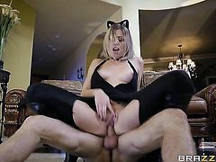 Michael Vegas stretches juicy Zoey Monroes muff pie with his throbbing ram rod to the limit