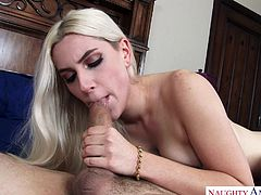 Nikki Snow used to visit my house frequently, especially when my wife was not there. One day she exposed her breasts and offered me to play with them. She sat on my face and I was stimulating her clitoris with my tongue. Then she asked for my cock and we switched into 69 position. Must watch!