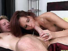 Levi Cash gets his always hard worm eaten by Redhead