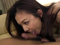 Rika admitted once that she got with her current boyfriend mostly because he's a good lover. His fingers and tongue make her dripping wet every time, and she cums at least once every time. She uses her own skills on his cock, licking and sucking it like it's her favorite dessert.