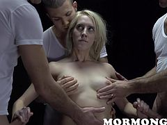If you want to look into the mysterious world of powerful Mormons and get acquainted with the various rituals of this closed community, then don't wait any longer and just join us! Mormon Girls reveals the sexual rituals practiced by a mystical priesthood, known as the Patriarchal Order.