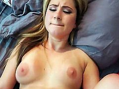 Watch gorgeous Payton show us her big nipples and tight pussy as she gets pounded by a hard cock. She fucks her boyfriend like a real pro on camera.