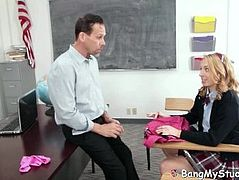 Naughty Schoolgirl Zoe Parker Caught Wearing No Panties By Pervert Teacher
