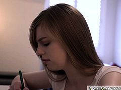Blacked redhead teen and braziers dirty students fuck at