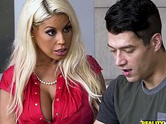 Buxom milf Bridgette B is delicious and doing Xander Corvus
