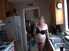 Kim Bates gets nude in the kitchen. Can she help you?