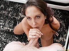 It is not the first time that this dirty pervet broke in Ava's house, looking for her panties, wanting to steal them. Honesty, this experienced milf never worried about this and his attention even flattered her. So, today, she is going to caught him and fuck.