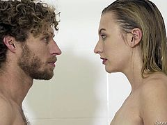 Michael accidentally entered the bathroom, when Alexa was there, taking a shower. He dreamed about this for a long time, but it's impossible, she is his friend's wife and this connection is vicious. But it's stronger, this is fate and they are tempted. While hot jets caress their beautiful bodies they...