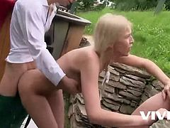 Vivid.com - Karol and Ornella Morgan in a hot 3some on the mountains