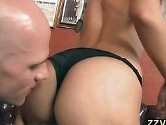 Rachel Starr fucked by horny police officer