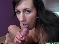 Public Pick Ups - Terra Sweet - Euro Babe Works the Cock