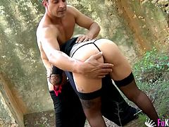 Horny Gina Snake loves being fucked by a couple of lovers
