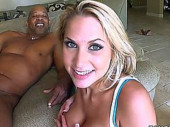 Alanah Rae vs Monster Sized Dick