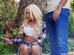 Can you really blame lovely housewife, Nikki Delano, for cheating on her husband with their neighbor? Her husband often leaves her alone at home, so she started feeling rather lonely and she loved the attention she got from her neighbor. Her neighbor is married also but who could ignore such beauty?!