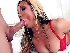 Mia Rider is desperate for oral sex and Jonni Darkko knows it after she gets her fudge packed, Thene