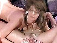threesomes group sex russian bitch double anal 1