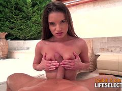 Do you like petite girls? Do you like seeing them fucked by huge dicks? This is the right place for you! Anita Bellini is a cute petite brunette and she has here holes prepared for big dicks...........