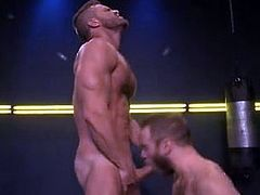 Landon Conrad and Shawn Wolfe (Cock Fight)
