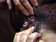 Master Cocksman Ron Jeremy Fucks Hot Black Office Slut