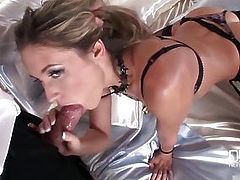 Cherry Jul loves living in the lap of luxury Satin sheets and