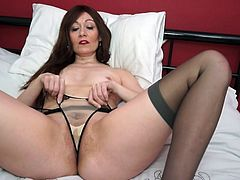 If you like experienced women, then this horny brunette, Kitty Cream, is just for you. She needs your attention and wants your hard dick. Join and have fun!