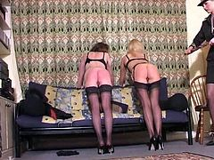 British Meter Maids Spanked