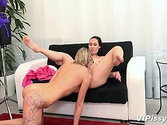Want to see some hot and sensual lesbian action with girls pissing and having fun? Then join us, we are bringing you the quality which you haven't seen before! Relax and enjoy!