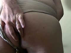 Triple Cum Shots In And Out Of Panties