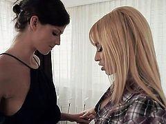 Aleska Diamond and Denisa Doll