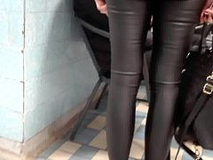 Leather pants in hospital