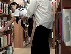 Schoolgirl Exhibitionist Yui Saotome Caught Naked & Punished